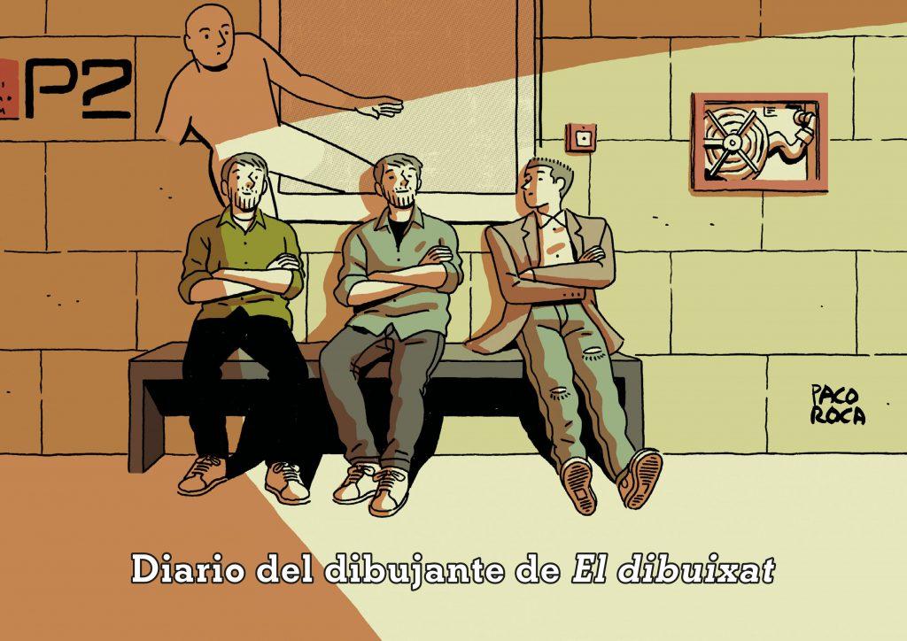 Paco Roca Cómic Dibujado Exposición IVAM