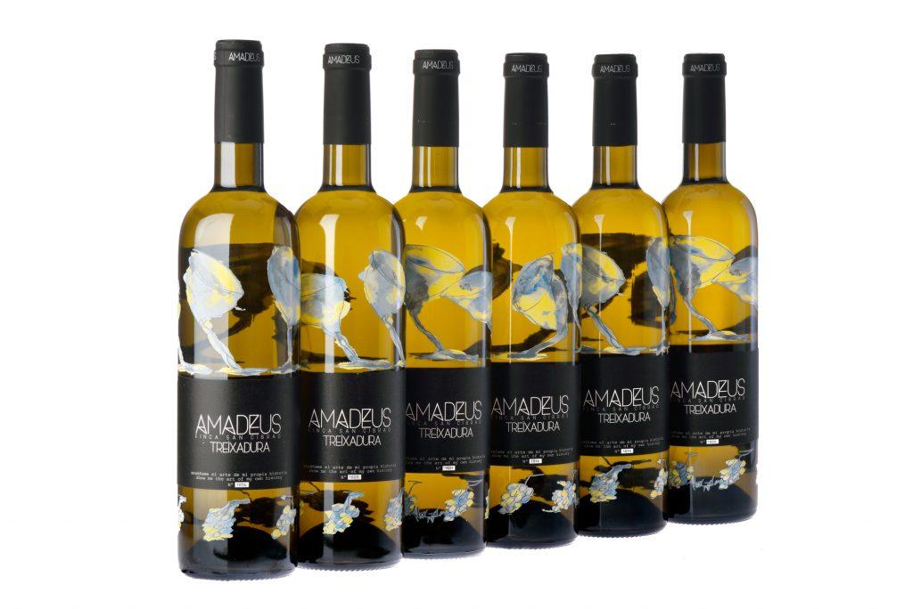 Botella de Amadeus de Viña Costeira