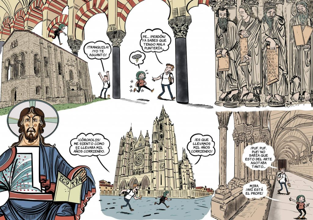 La Historia del Arte de la Edad Media en cómic