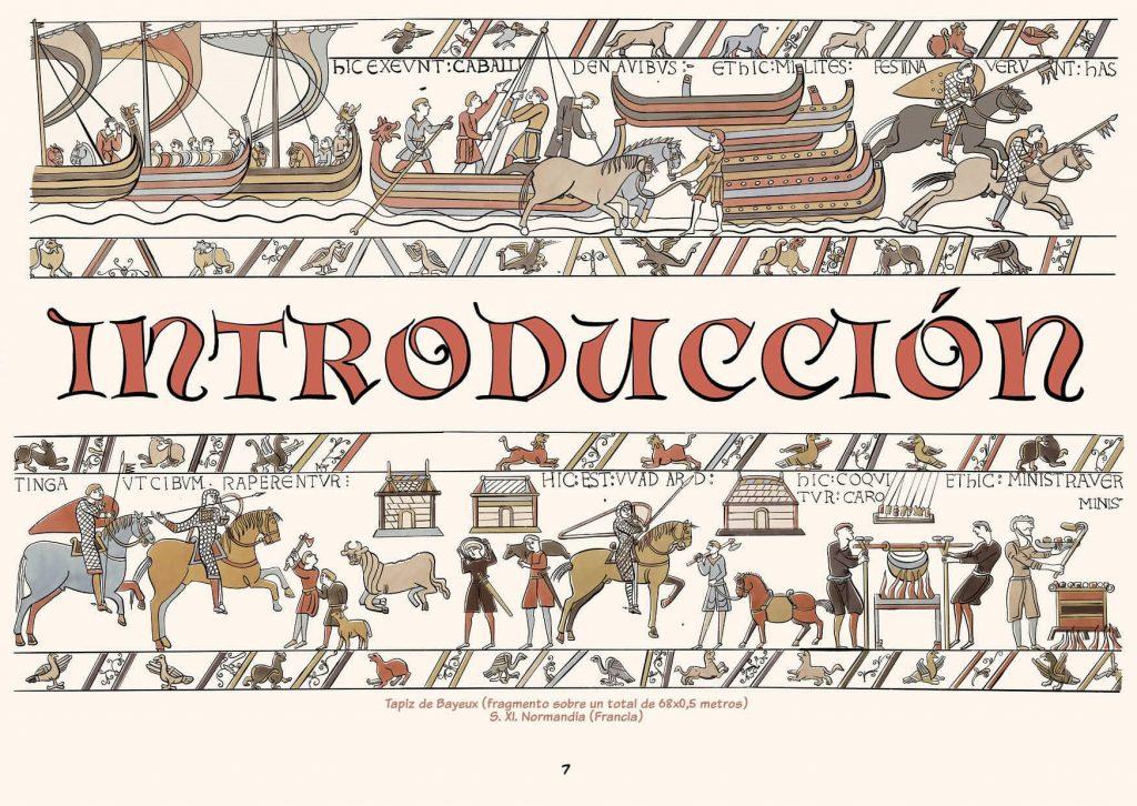 Tapiz Bayeux en la Historia del Arte en cómic de Pedro Cifuentes