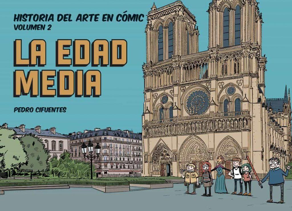 Cómic de Historia del Arte en Cómic. La Edad Media de Pedro Cifuentes