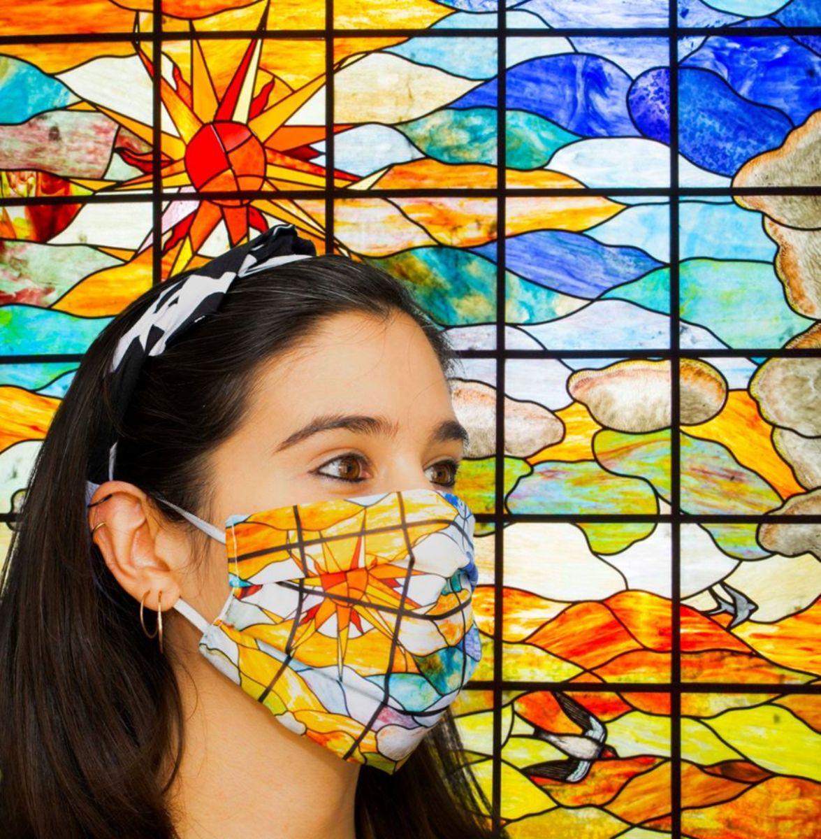 Mascarilla Lis del Museo Casa Lis de Salamanca
