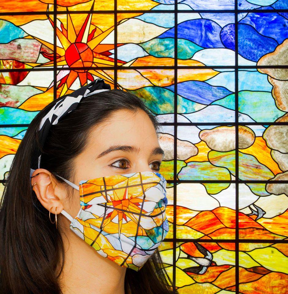 Mascarilla del Museo Casa Lis de Salamanca