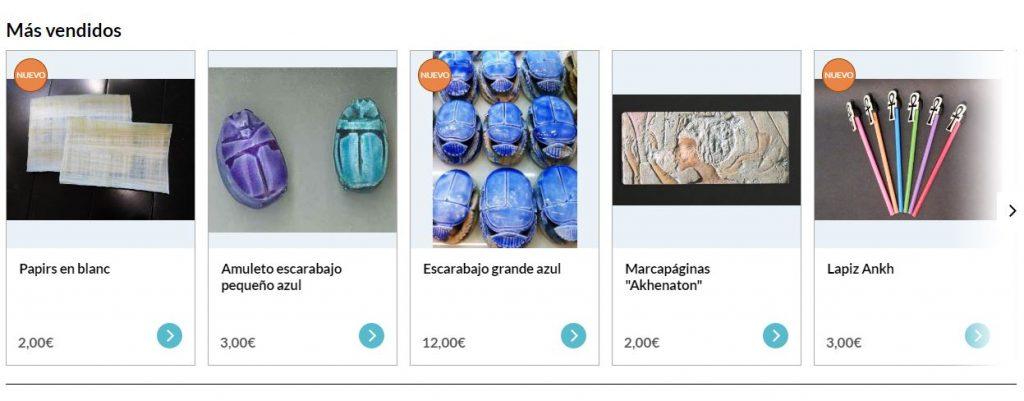 Tienda online del Museo Egipci de Barcelona