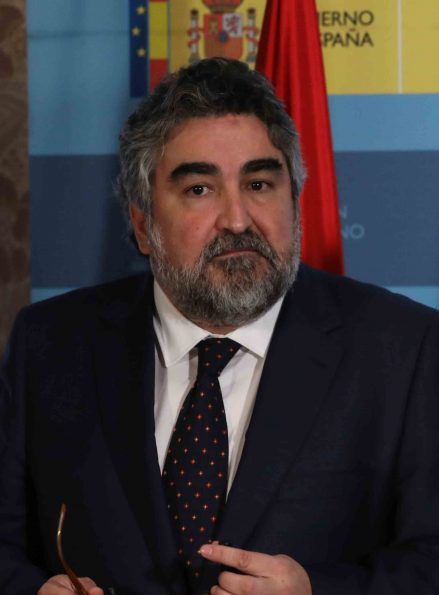 Rodríguez Uribes Ministro de Cultura y Deporte