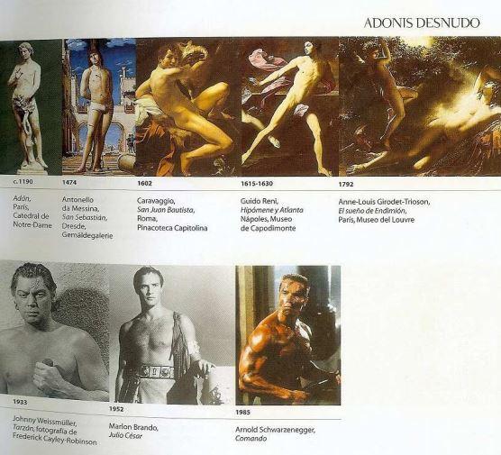 Página de Historia de la Belleza de Umberto Eco