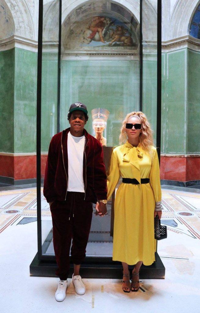 Beyonce Nefertit Neues Museum Berlin