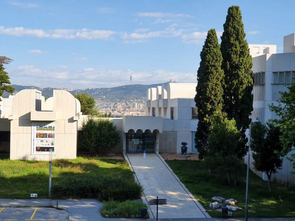 Fundació Miró de Barcelona vistas