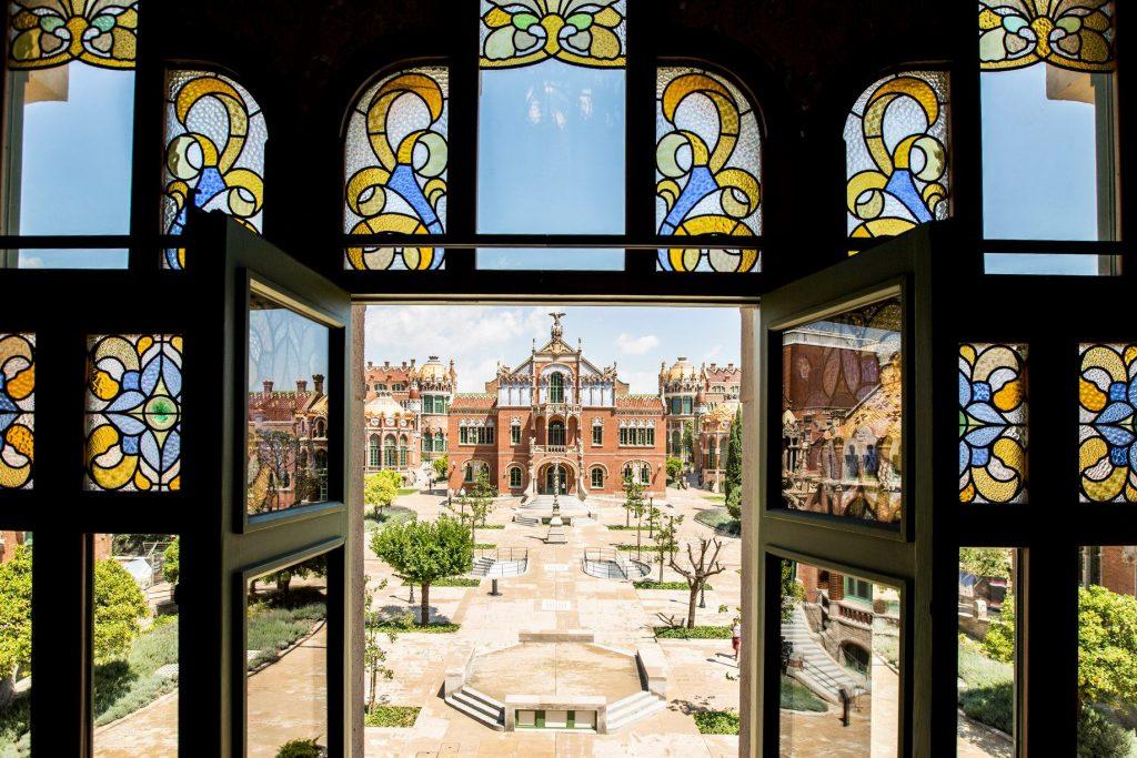 Sant Pau Recinto Modernista Barcelona