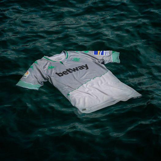 Tercera camiseta del Betis y Río Guadalquivir