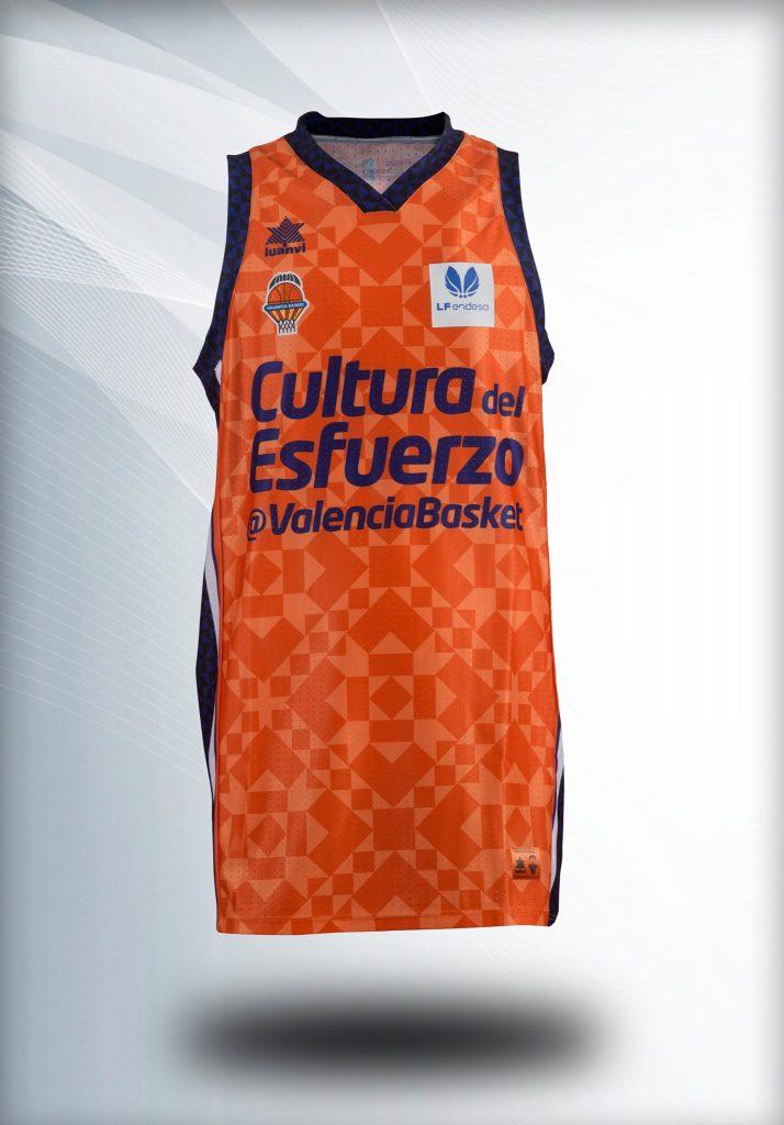 Camiseta Valencia Basket Femenina CErámica Nolla