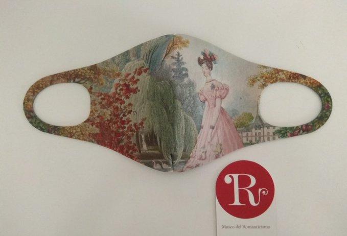 Mascarilla del Museo del Romanticismo de Madrid