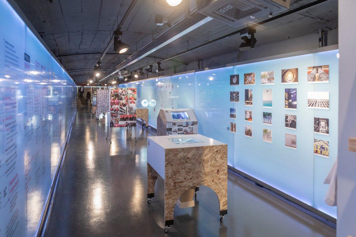Exposición del 48H Open House Barcelona