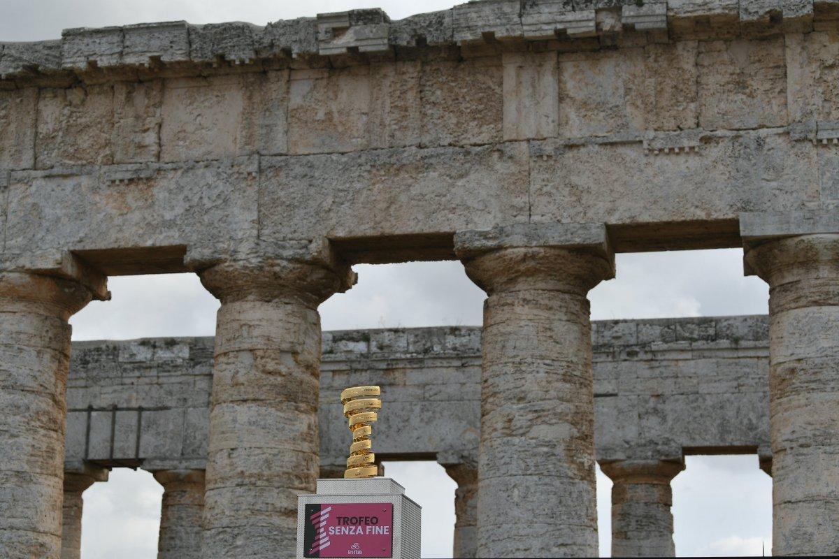 Templo de Segesta Giro d'Italia