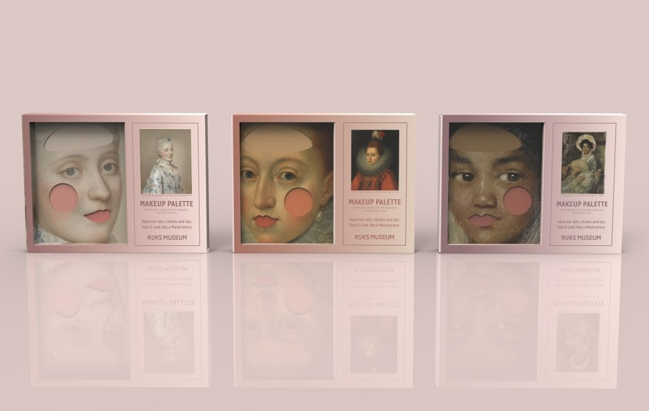 Make-up pallet Ezgi Kiral Rijksstudio Awards Rijksmuseum