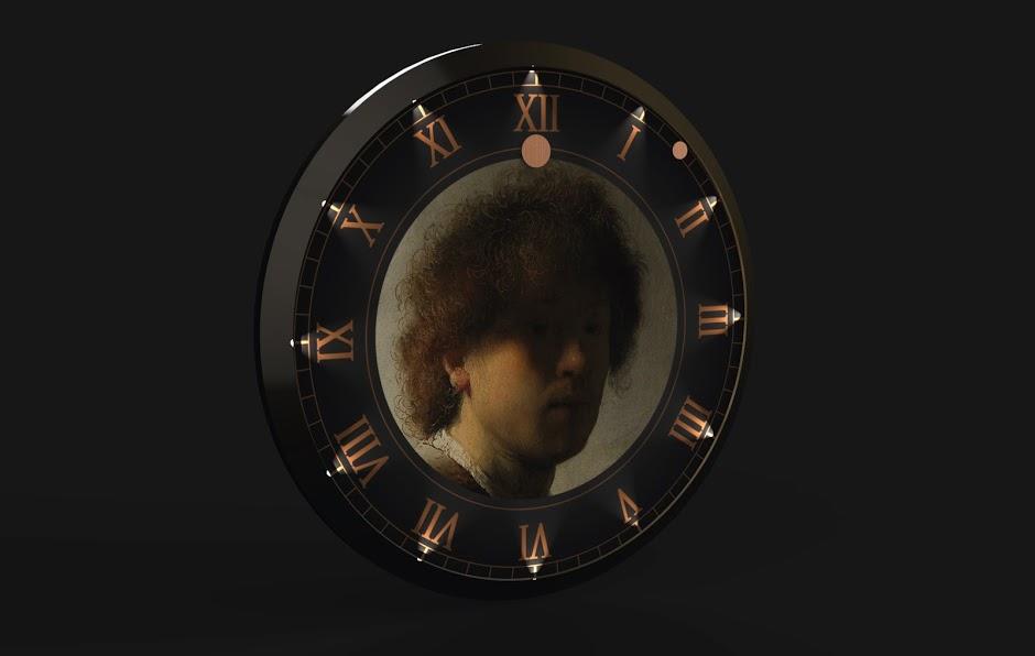 Rembrandt Wall clock Nihan Kuşaklı Rijksstudio Awards Rijksmuseum