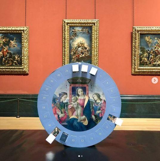 Tienda online de la National Gallery de Londres