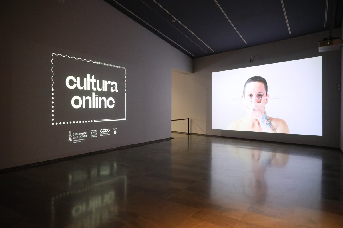 Exposición Cultura Online Valencia