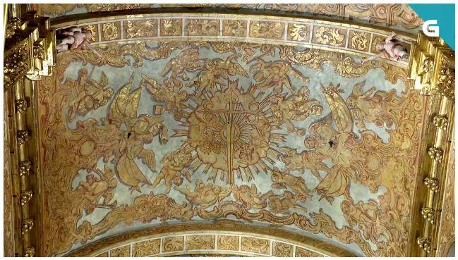 Catedral de Santiago pinturas capilla mayor