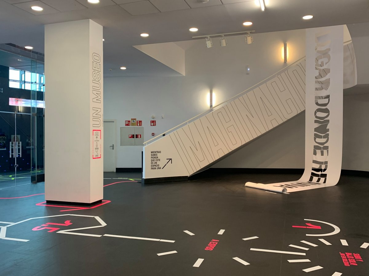 Centro de Arte Dos de Mayo Móstoles Museografía