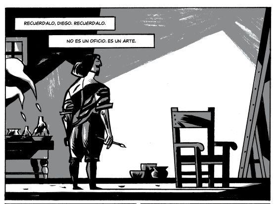 Cómic Las Meninas Velázquez