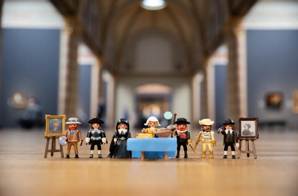 Playmobil de arte del Rijksmuseum