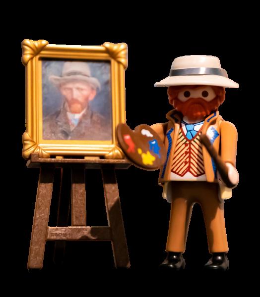 Playmobil de Van Gogh del Rijksmuseum