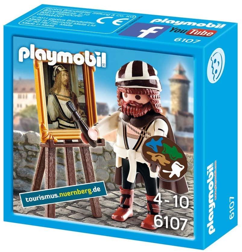 Playmobil de Albert Durero del Museo del Prado