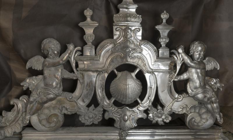 Catedral de Santiago restauración plata