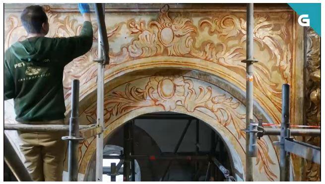 Restauración de la catedral de Santiago Documental