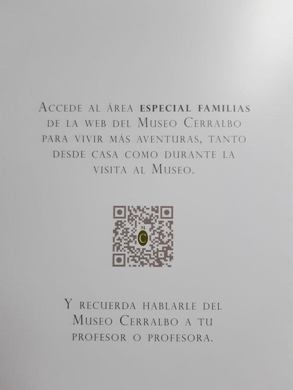 Código QR del cómic del Museo Cerralbo