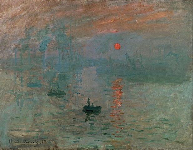 Impresión sol naciente Monet