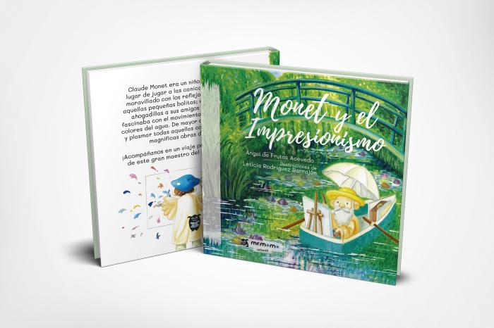 Monet y el Impresionismo, de editorial Mr. Momo