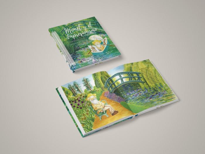 Libro ilustrado Monet y el Impresionismo