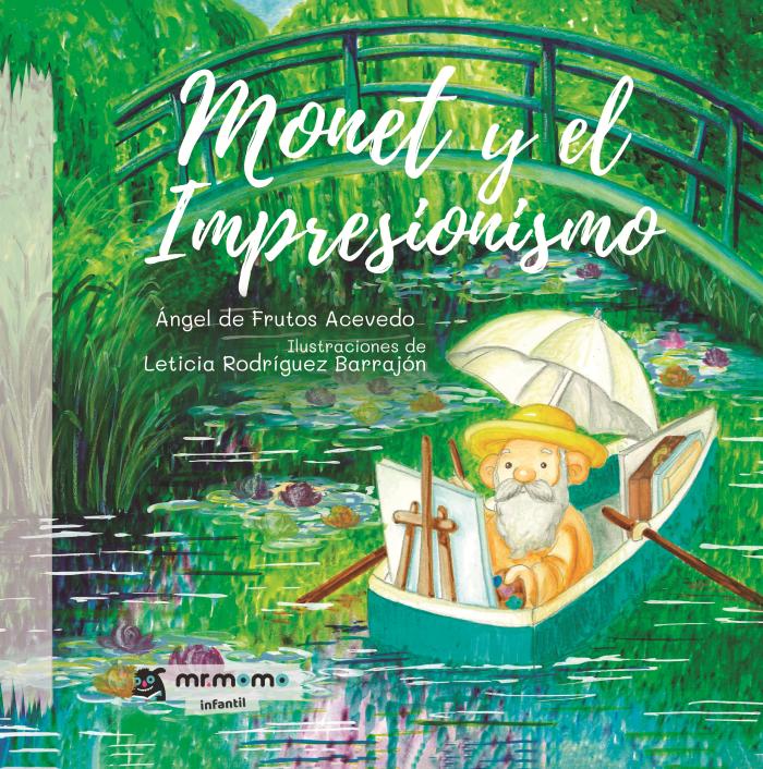 Cómic Monet y el Impresionismo