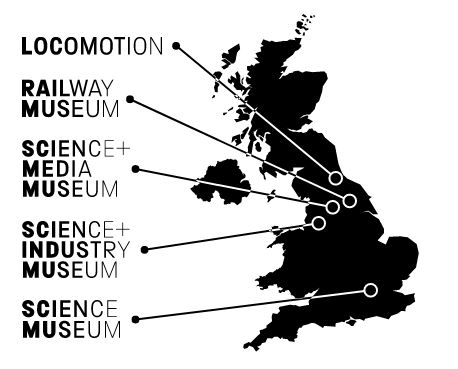 Science Museum Group Museum Mapa Inglaterra