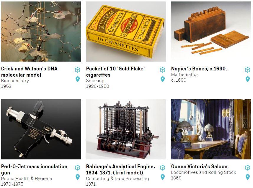 Colección de la Science Museum Group Collection