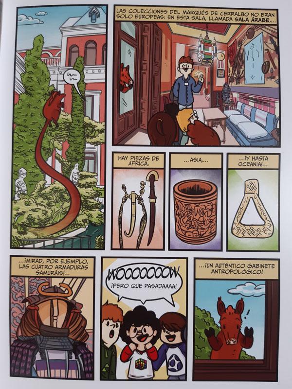 Cómic Aventura del Museo Cerralbo