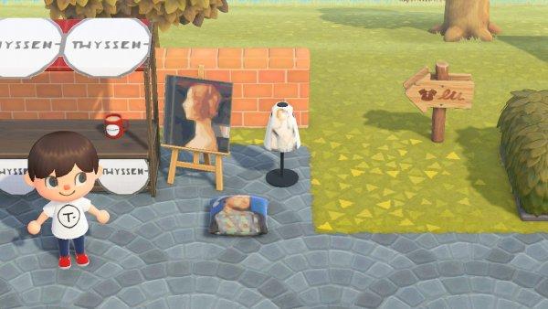 Museo Thyssen videojuego Animal Crossing