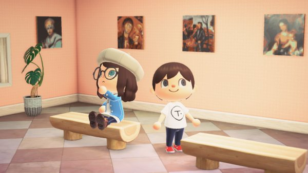 Museo Thyssen Animal Crossing Videojuego