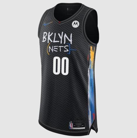 Camiseta Brooklyn Nets Basquiat colección Ciy Edition
