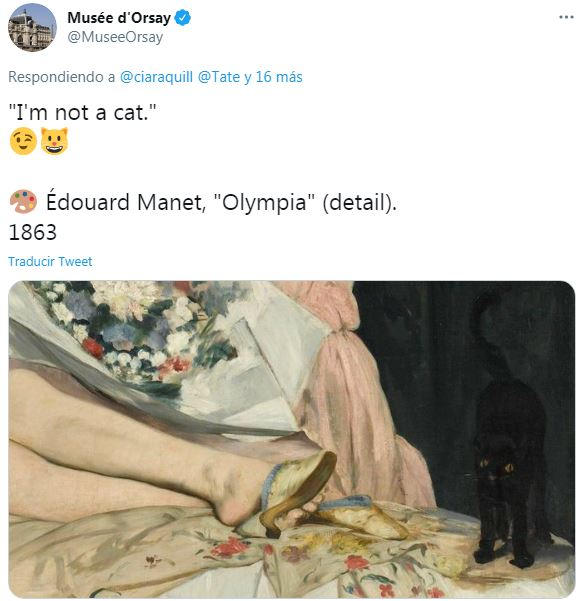 Museo d'Orsay Cat Manet Olimpia