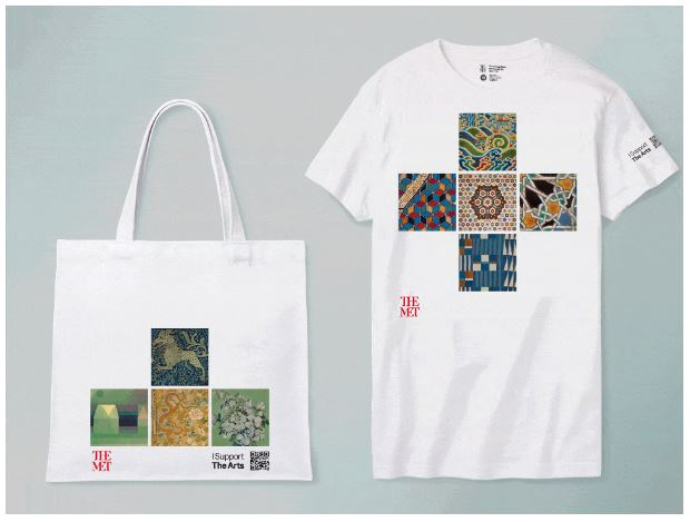 Camiseta de arte de la tienda online del MET de Nueva York