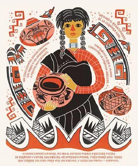 Nampeyo Mujeres en el arte Libro ilustrado