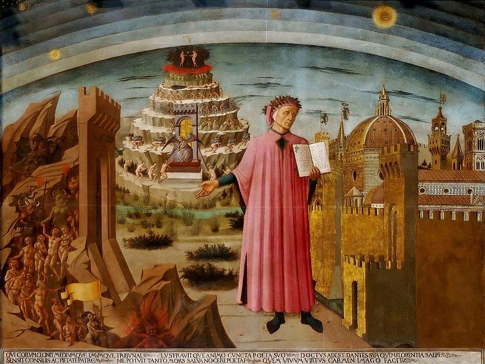 Dante e il suo poema, Domenico di Michelino en el Duomo di Firenze