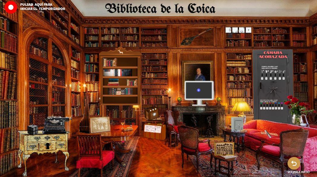 Escape room online del Museo Nacional de Antropología