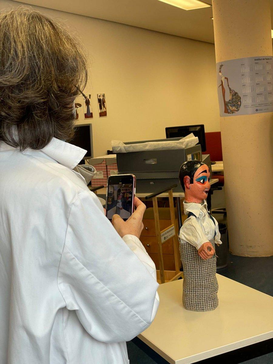 Jacqueline Glarner Escanear 3D Patrimonio Museu Arst Esceniques Institut Teatre