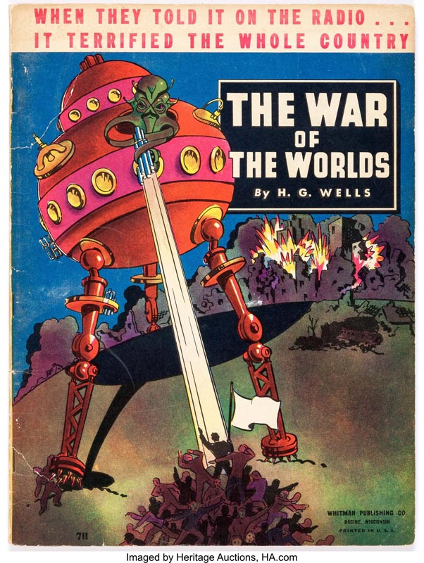 Herbert George Wells. The War of the Worlds Marte CCCB Saunders