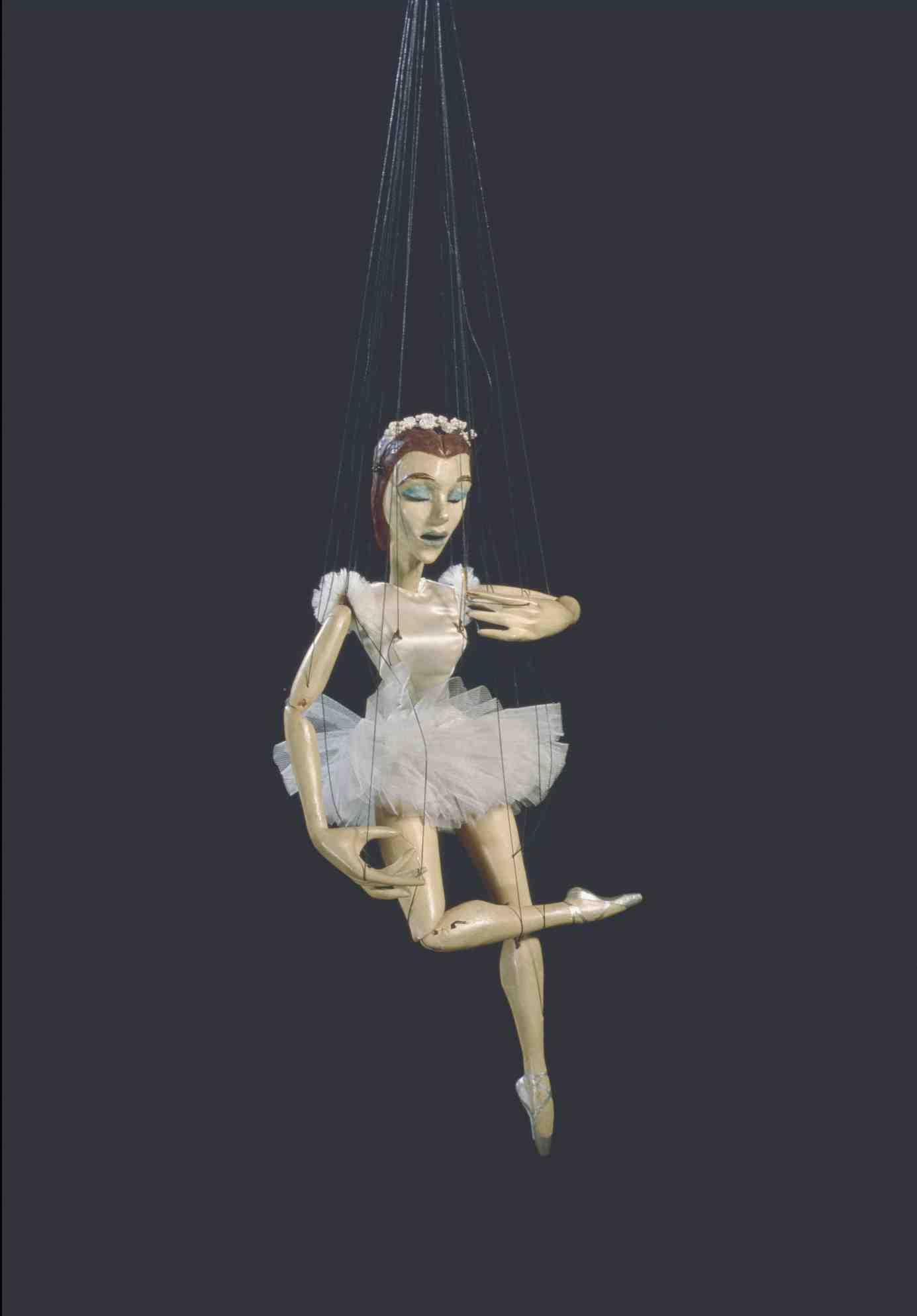 Marioneta de bailarina de Harry Tozer Museu Arts Esceniques Institut del Teatre