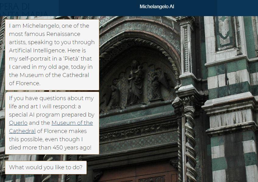 Michelangelo AI Firenze Opera del Duomo